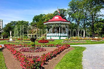 Gazebo, Halifax Public Gardens, Halifax, Nova Scotia, Canada
