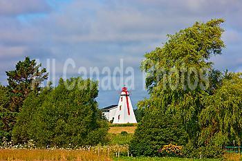 Range light, Beach Point, Prince Edward Island, Canada