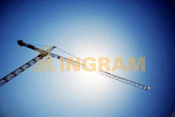 Low angle view of a crane, Washington DC, USA