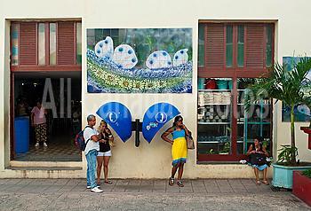Street scene, Holguin, Cuba